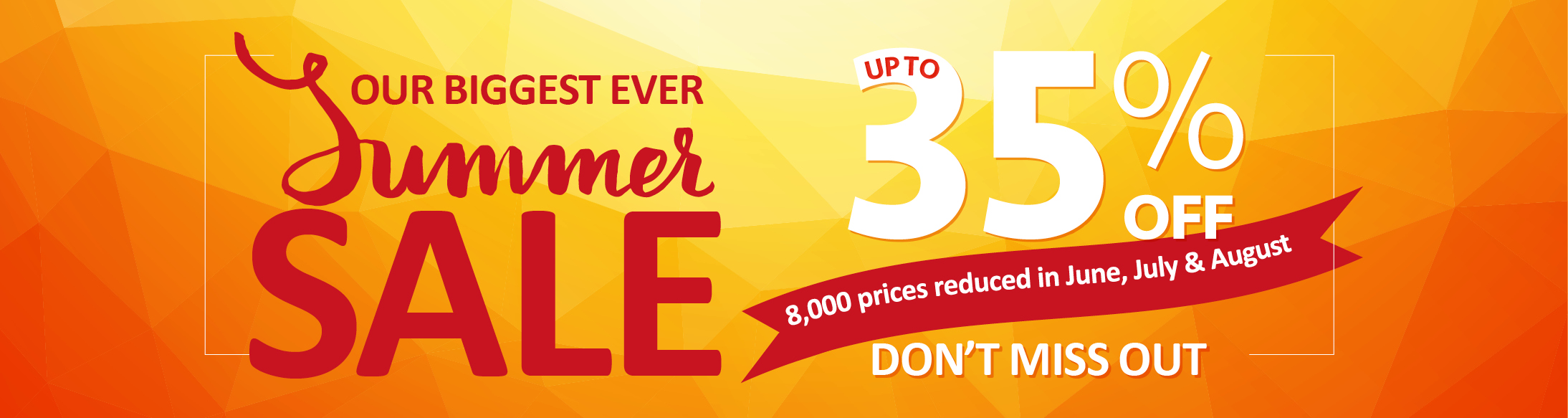 Sykes Summer Sale
