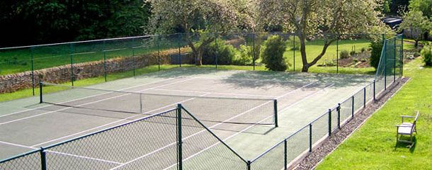Cottage With A Tennis Court