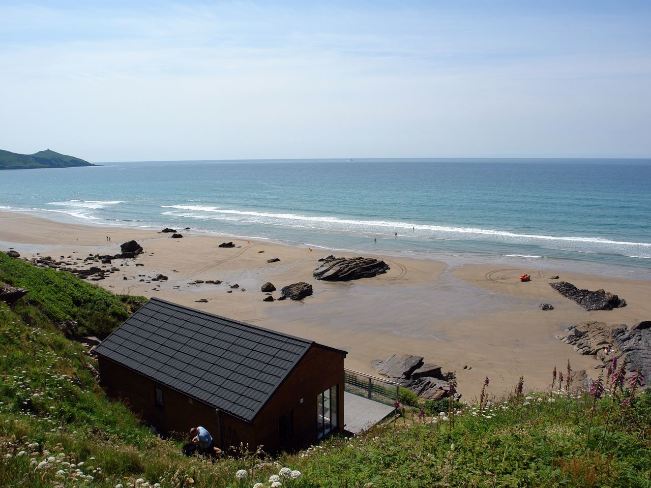 Cliff End, Whitsand Bay, Cornwall