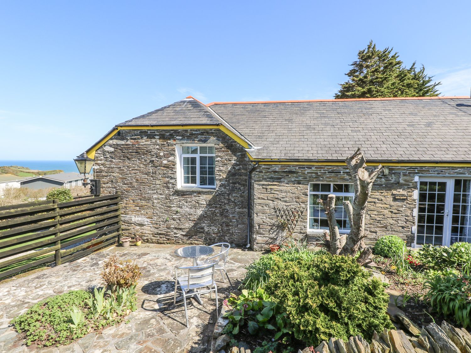 The Garden Apartment, Tintagel, Cornwall