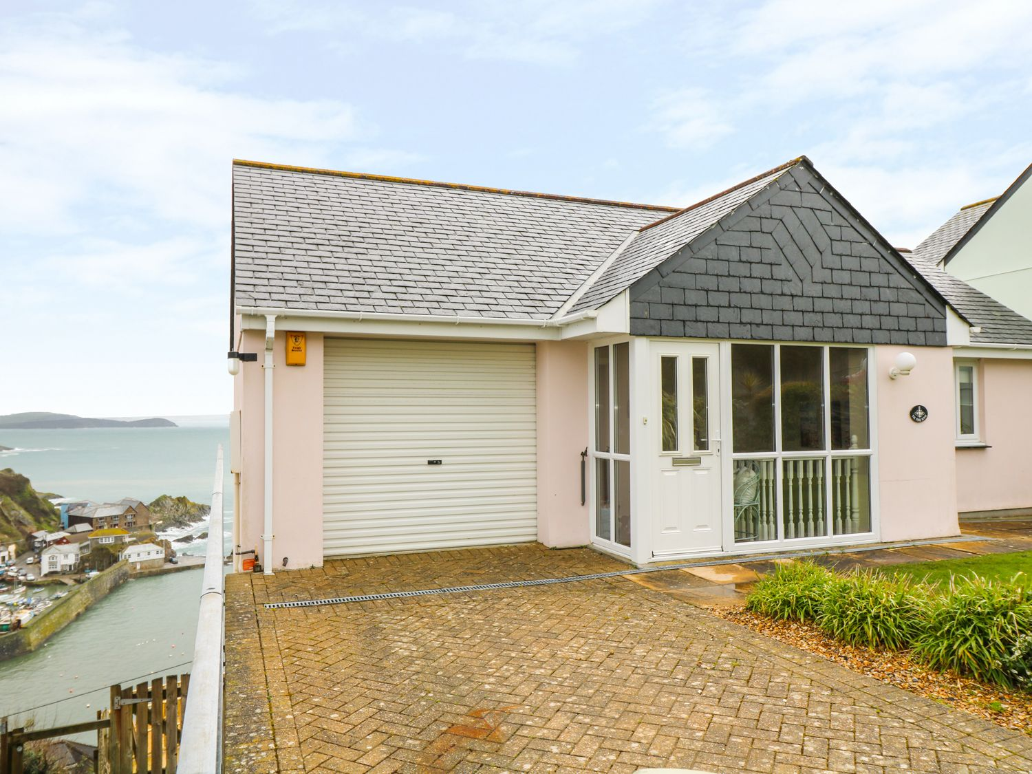 Pink House, Mevagissey, Cornwall