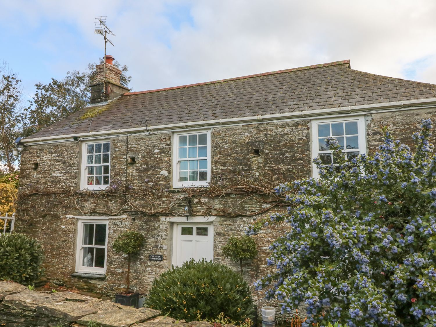Cardwen Farmhouse, Polperro, Cornwall