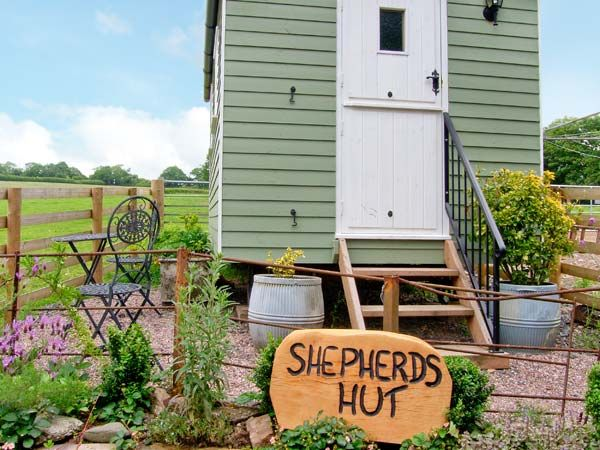 Shepherd's Hut in Shropshire