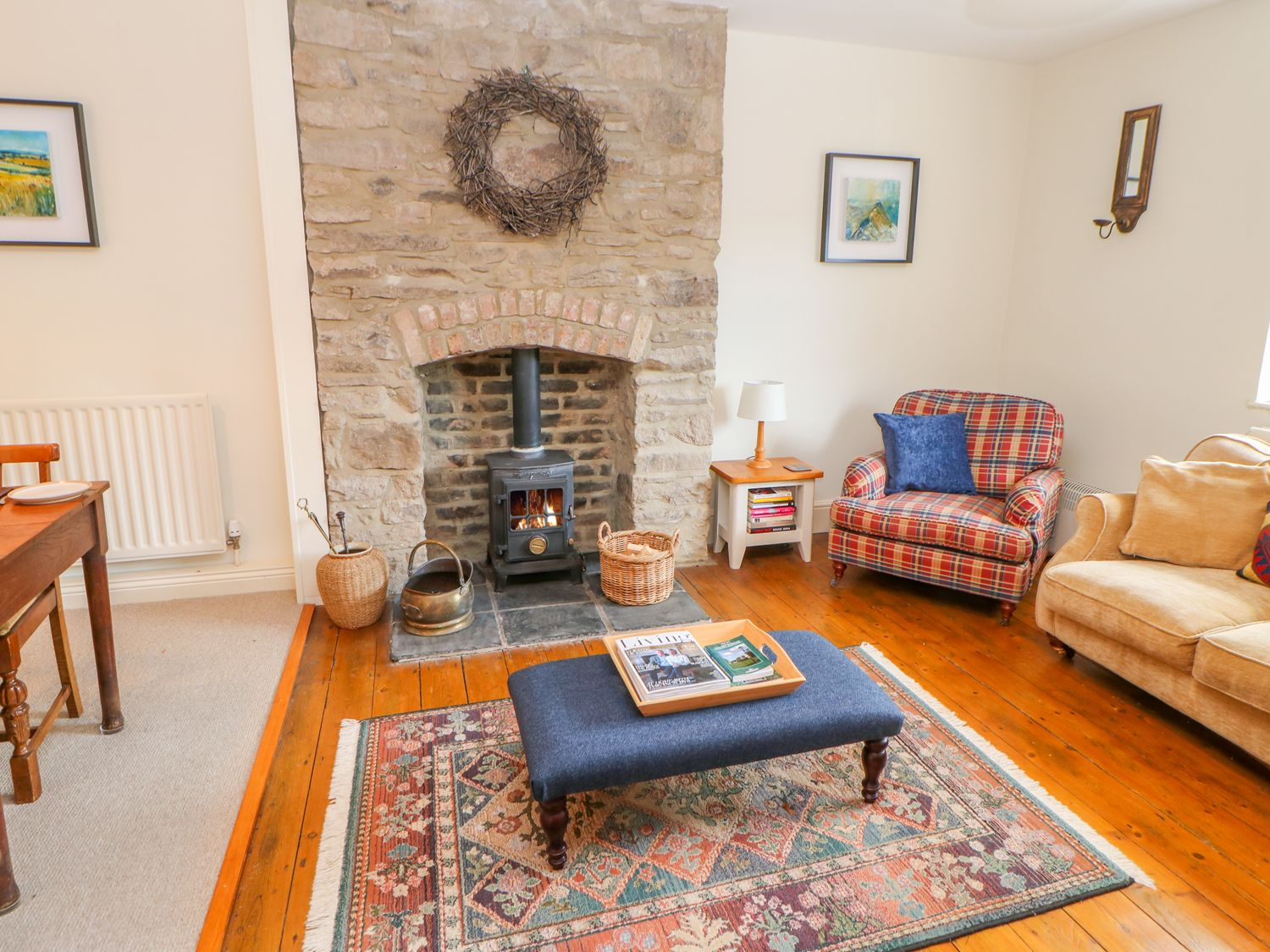 Old Workhouse Cottage | Stanhope | Ashes Ho | Yorkshire Dales | Self