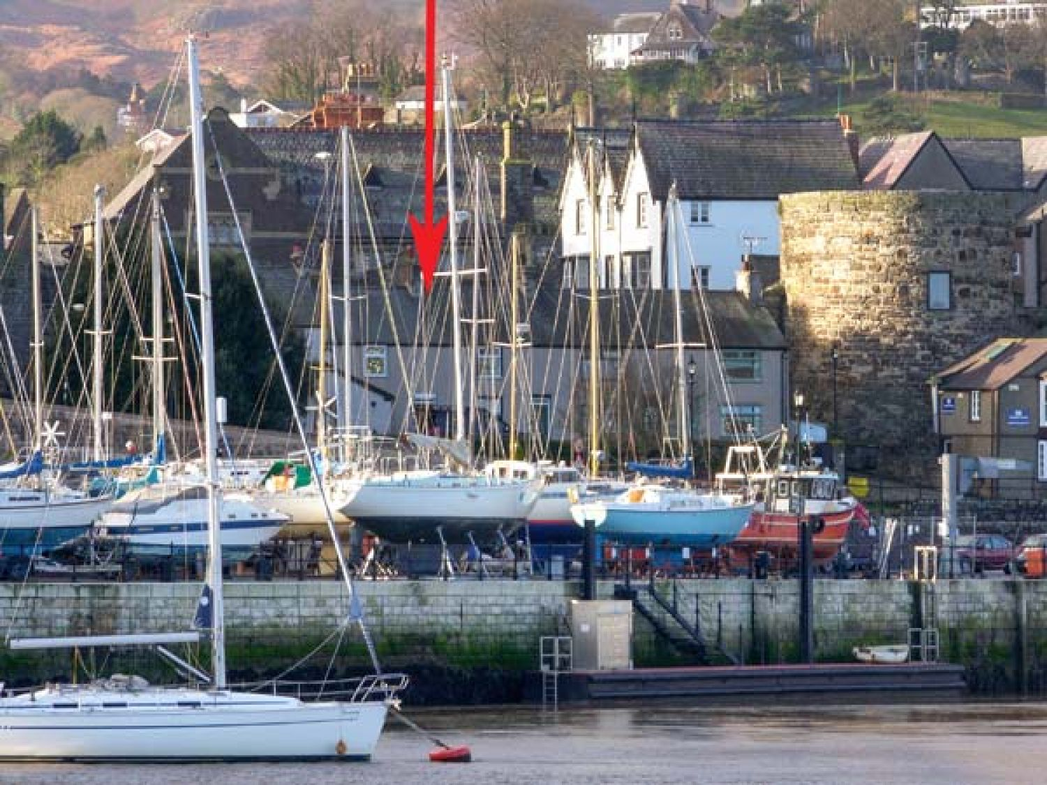 Quayside Cottage Conwy Self Catering Holiday Cottage