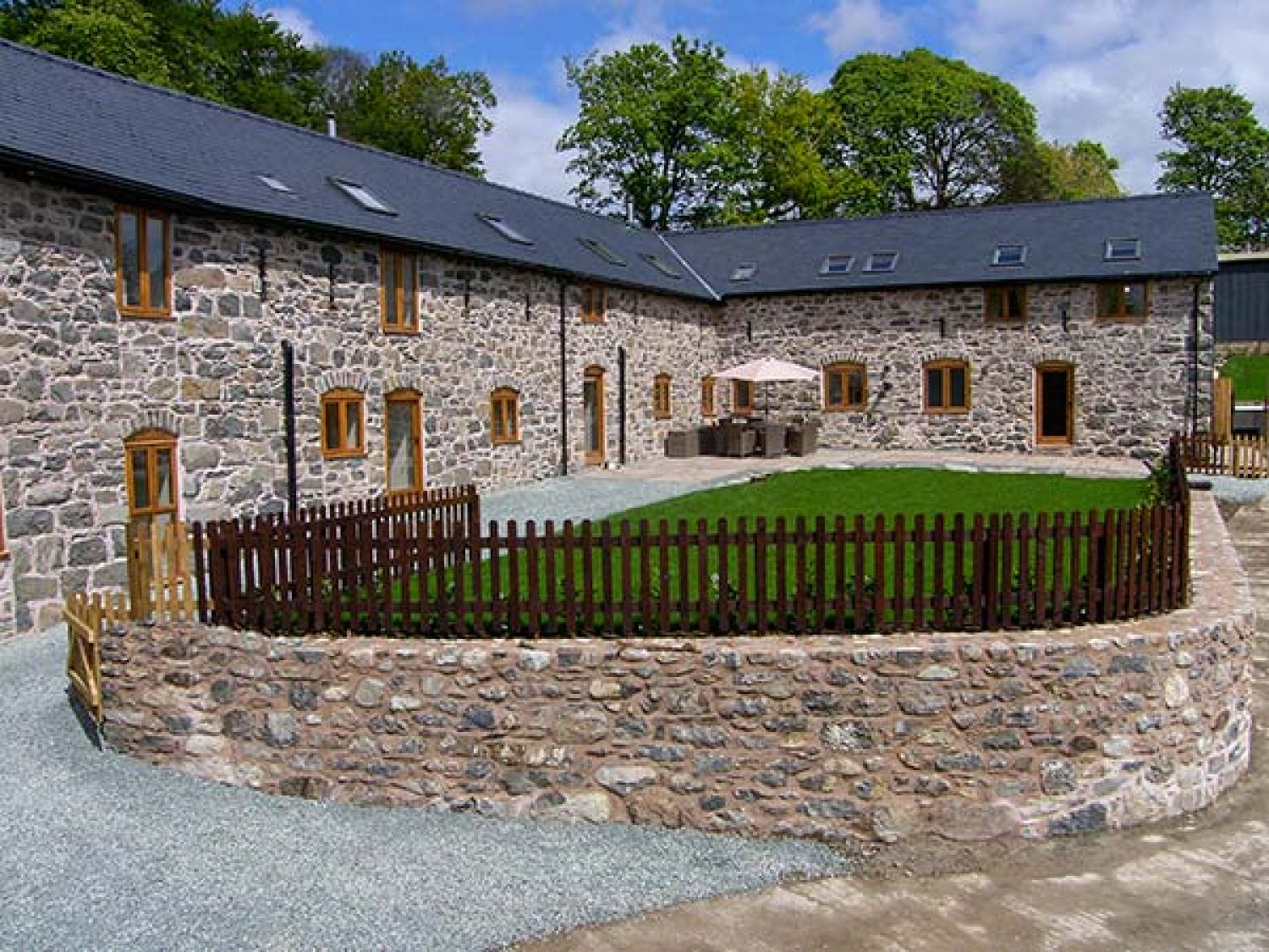 Castell Courtyard - North Wales - 905109 - photo 1