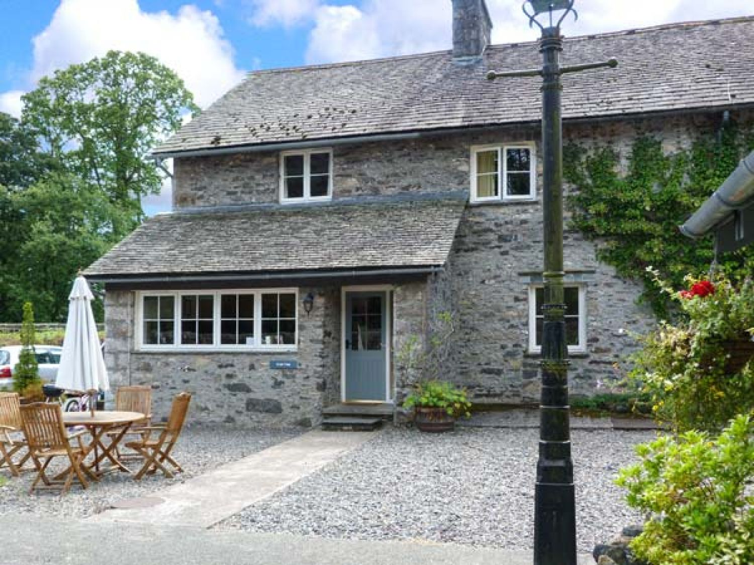 Crabtree hawkshead force mills the lake district and cumbria self catering holiday cottage for Lake district cottages with swimming pool