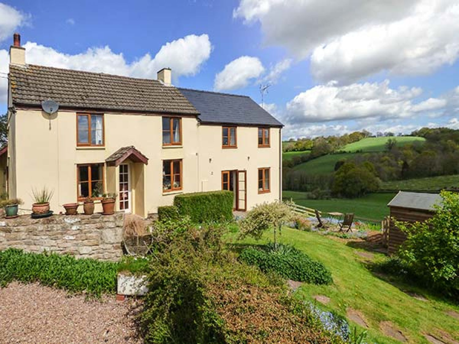 Glebe Farm Cottage - South Wales - 924581 - photo 1
