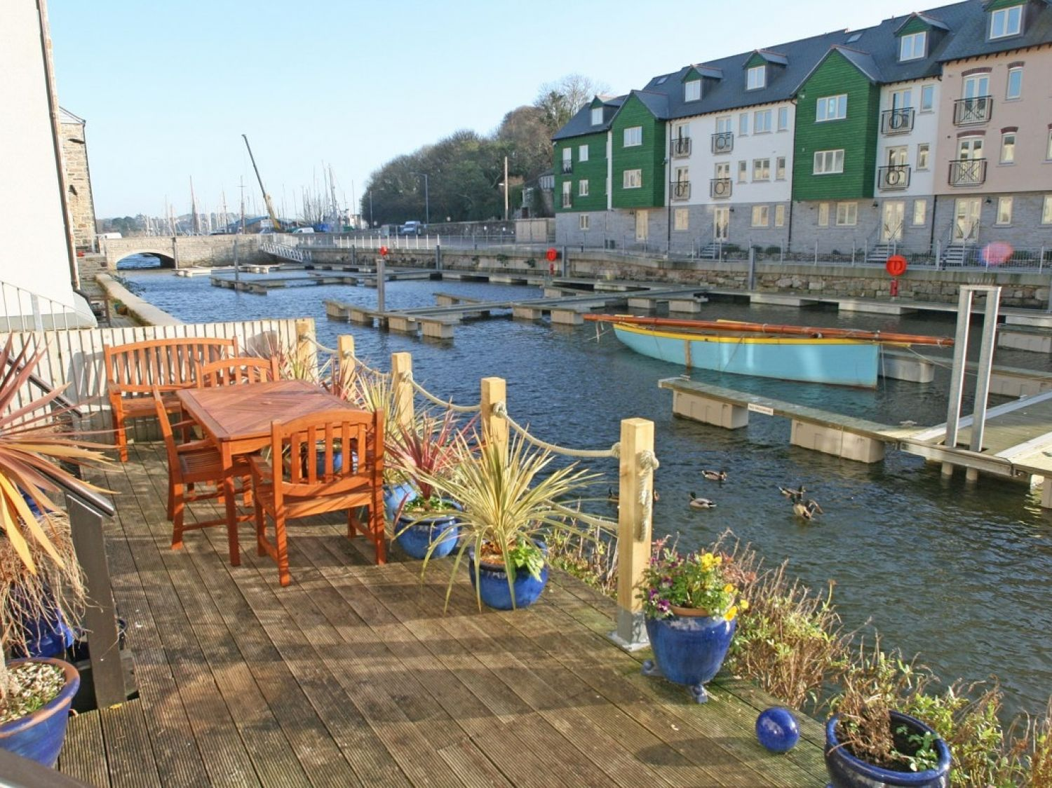 Tides Reach Penryn Cornwall Self Catering Holiday