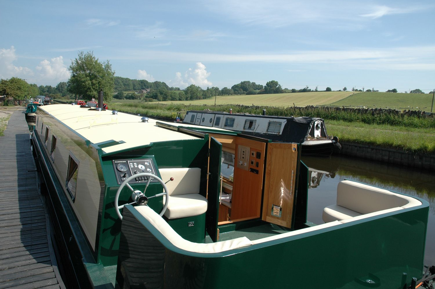 Canal Barge - Yorkshire Dales - 984986 - photo 1