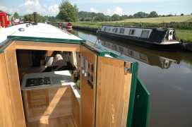 Canal Barge - Yorkshire Dales - 984986 - thumbnail photo 2