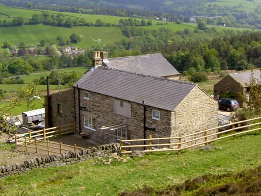 Tor Farm Cottage Bradfield Dale Sheffield Peak