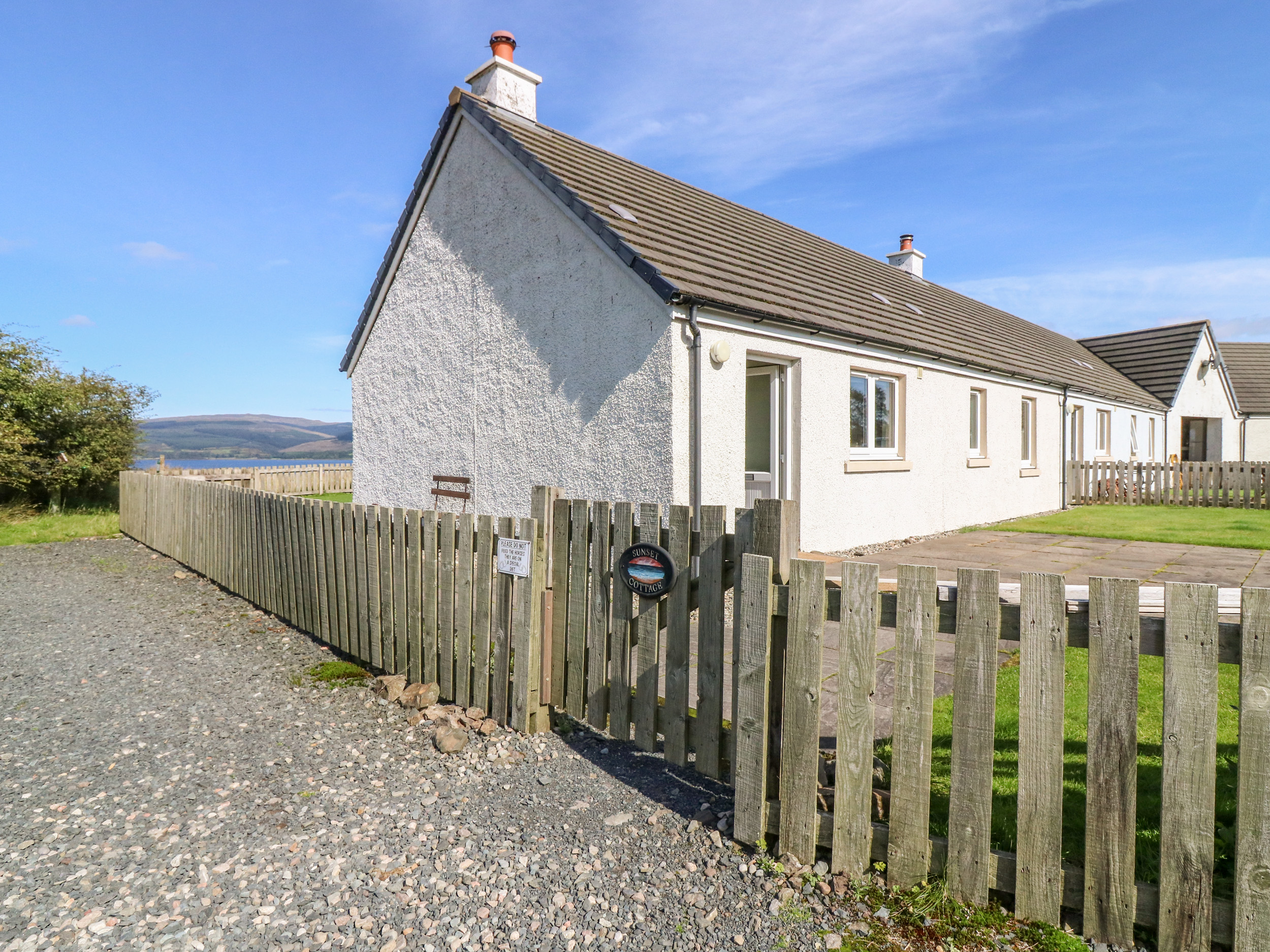 Sunset Cottage, Salen