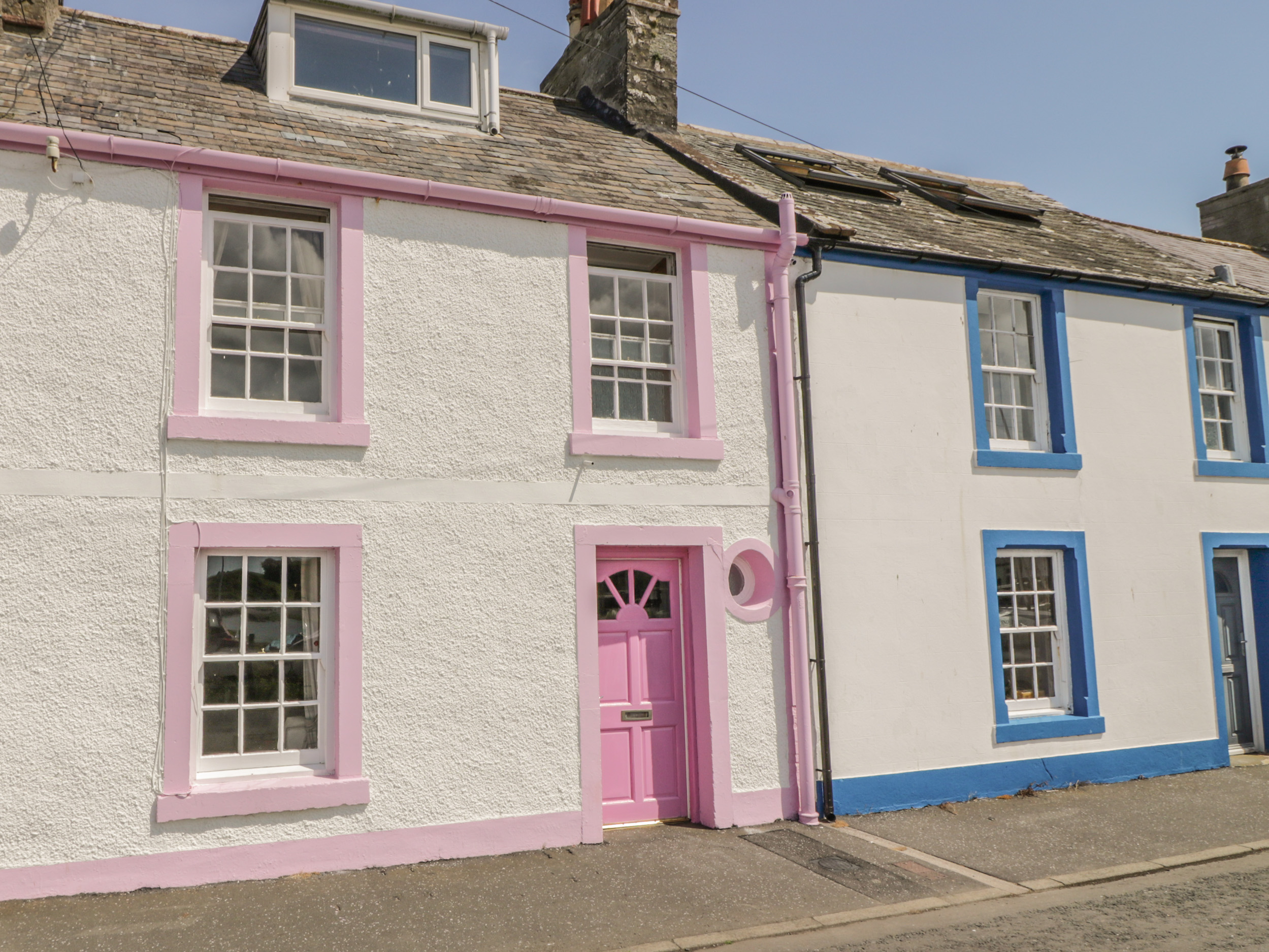 The Pink House, Isle of Whithorn