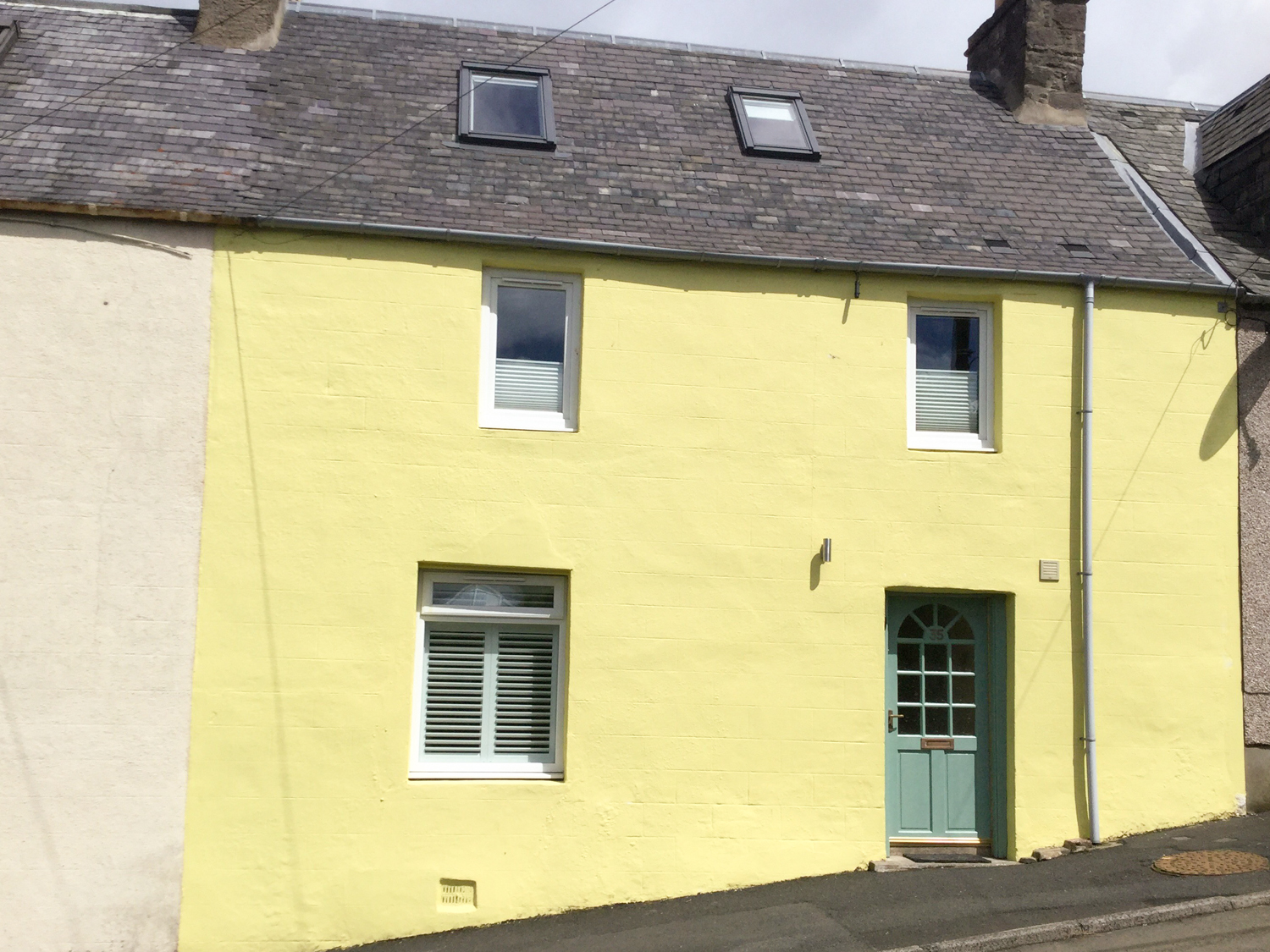 The Yellow House, Stow of Wedale