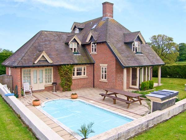 Ashley house piddletrenthide dorset and somerset - Houses in england with swimming pools ...